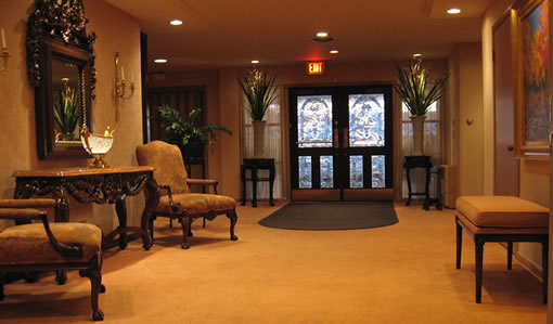 The Funeral Home S Foyer Schmaedekefuneralhome Interior Foyer Jpg